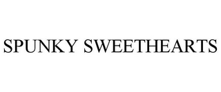 mark for SPUNKY SWEETHEARTS, trademark #85801528