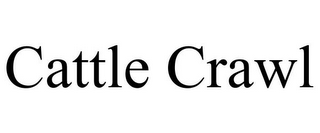 mark for CATTLE CRAWL, trademark #85801535