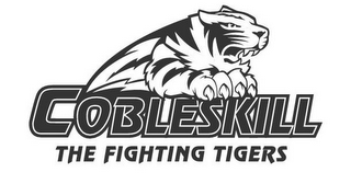 mark for COBLESKILL THE FIGHTING TIGERS, trademark #85801547