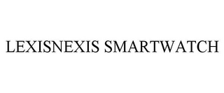 mark for LEXISNEXIS SMARTWATCH, trademark #85801673