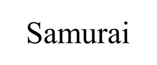 mark for SAMURAI, trademark #85801704