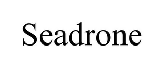 mark for SEADRONE, trademark #85801744