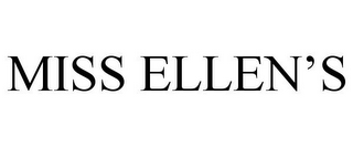mark for MISS ELLEN'S, trademark #85801860
