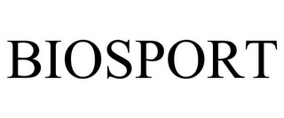 mark for BIOSPORT, trademark #85802045