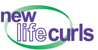 mark for NEW LIFE CURLS, trademark #85802073