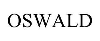 mark for OSWALD, trademark #85802138