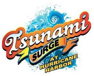 mark for TSUNAMI SURGE AT HURRICANE HARBOR, trademark #85802711