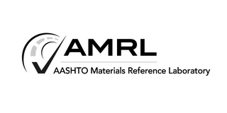 mark for AMRL AASHTO MATERIALS REFERENCE LABORATORY, trademark #85802788