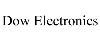 mark for DOW ELECTRONICS, trademark #85803102