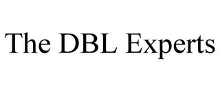 mark for THE DBL EXPERTS, trademark #85803122