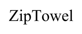 mark for ZIPTOWEL, trademark #85803210