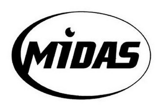 mark for MIDAS, trademark #85803406