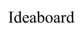 mark for IDEABOARD, trademark #85803546