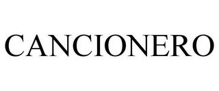 mark for CANCIONERO, trademark #85803553