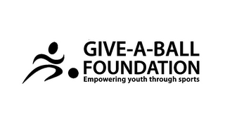 mark for GIVE-A-BALL FOUNDATION EMPOWERING YOUTH THROUGH SPORTS, trademark #85804176