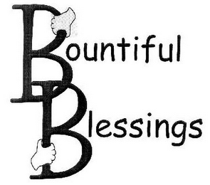 mark for BOUNTIFUL BLESSINGS, trademark #85804277