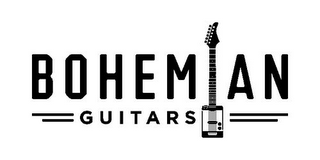 mark for BOHEMIAN GUITARS, trademark #85804333