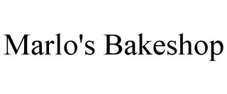 mark for MARLO'S BAKESHOP, trademark #85804448