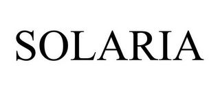 mark for SOLARIA, trademark #85804505