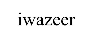 mark for IWAZEER, trademark #85804658