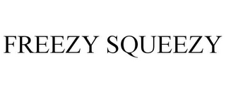 mark for FREEZY SQUEEZY, trademark #85804977
