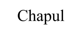 mark for CHAPUL, trademark #85805335
