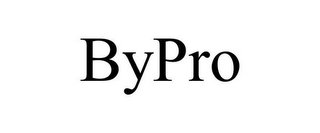 mark for BYPRO, trademark #85805433