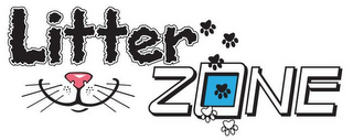 mark for LITTER ZONE, trademark #85805472