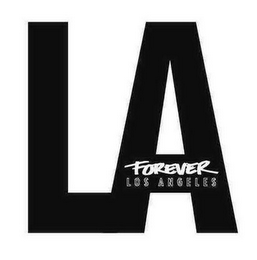 mark for LA FOREVER LOS ANGELES, trademark #85805553