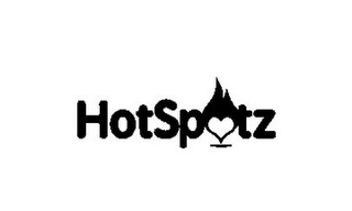 mark for HOTSPOTZ, trademark #85805633