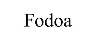 mark for FODOA, trademark #85805659