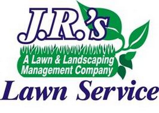 mark for J.R.'S LAWN SERVICE A LAWN & LANDSCPINGMANAGEMENT COMPANY, trademark #85805705