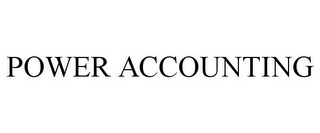 mark for POWER ACCOUNTING, trademark #85805738