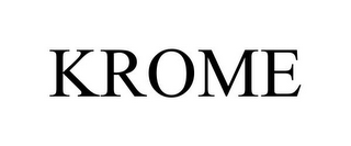 mark for KROME, trademark #85805743