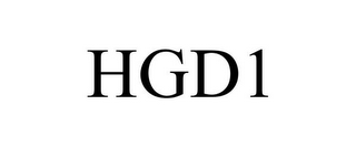 mark for HGD1, trademark #85805746