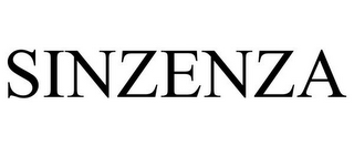 mark for SINZENZA, trademark #85805765