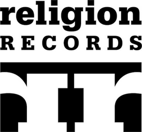 mark for RELIGION RECORDS RR, trademark #85805879