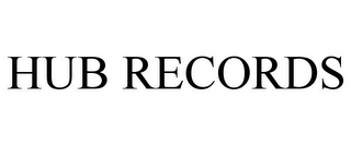mark for HUB RECORDS, trademark #85805900