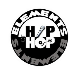 mark for ELEMENTS OF HIP HOP, trademark #85805948