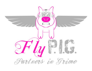 mark for FLY P.I.G. PARTNERS IN GRIME, trademark #85805983