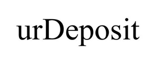 mark for URDEPOSIT, trademark #85805986