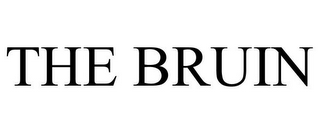 mark for THE BRUIN, trademark #85806051
