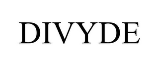 mark for DIVYDE, trademark #85807160