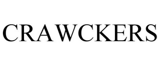mark for CRAWCKERS, trademark #85807274