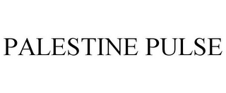 mark for PALESTINE PULSE, trademark #85807351