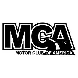 mark for MCA MOTOR CLUB OF AMERICA, trademark #85807541