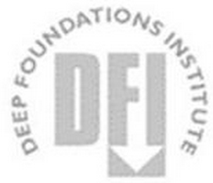 mark for DFI DEEP FOUNDATIONS INSTITUTE, trademark #85807580