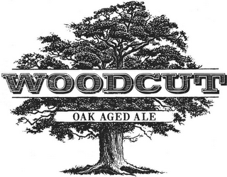 mark for WOODCUT OAK AGED ALE, trademark #85807635