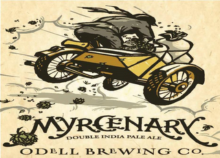 mark for MYRCENARY DOUBLE INDIA PALE ALE ODELL BREWING CO., trademark #85807646