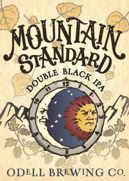 mark for MOUNTAIN STANDARD DOUBLE BLACK IPA ODELL BREWING CO. 1 2 3 4 5 6 7 8 9 10 11 12, trademark #85807653